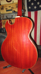Vintage 1966 GUILD Starfire III Hollowbody Electric Cherry Red