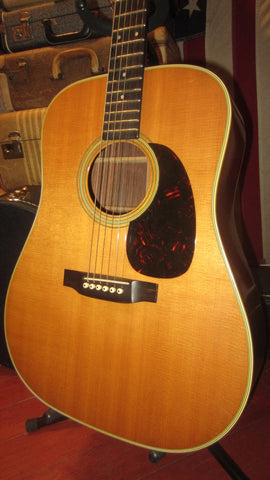 1966 Martin D-28 Natural Flatop Dreadnought Acoustic