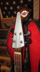 1966 Teisco EB-200 Electric Bass Sunburst