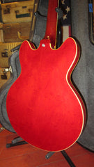 Vintage 1967 Epiphone Riviera Semi-Hollow Cherry Red w/ Gibson Humbuckers, HSC