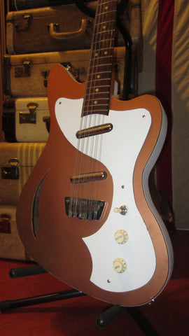 Vintage Circa 1967 Fender / Danelectro Villager electric 12 String Gold