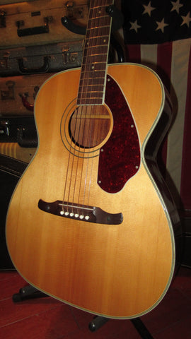 Vintage Original 1967 Fender Harmony Sovereign Acoustic Flattop Natural