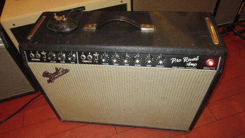 1967 Fender Pro Reverb Blackface Amplifier