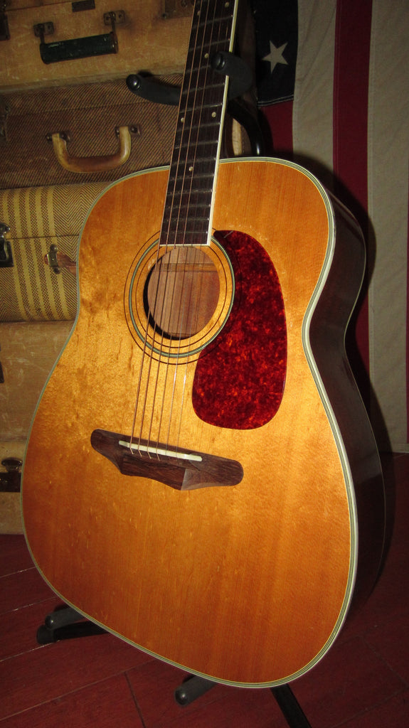 Vintage 1960's Harmony Sovereign Model H-1260 Jumbo Acoustic w/ gig bag
