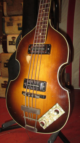 1967 Hofner 500/1 Beatle Bass Sunburst