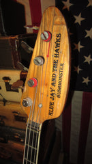 Vintage 1967 VOX Constellation Bass Bushmonster Sunburst