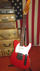 Vintage 1968 Teisco Electra Telecaster Copy Red