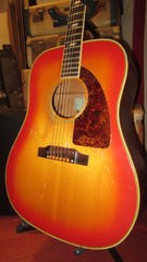 1969 Epiphone FT-90 El Dorado Cherry Sunburst