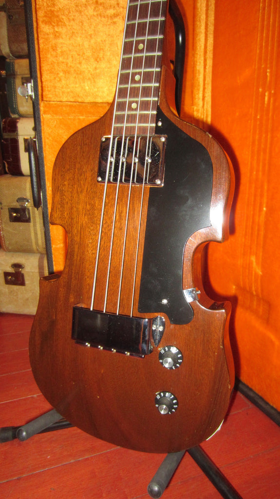 Vintage 1969 Gibson EB-1 Violin Bass Natural Finish w/ Original Hardshell Case