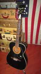 Vintage Original Circa 1969 Harmony Sovereign Model H1204 Small Bodied Acoustic