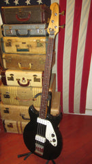 Vintage 1969 MIcrofrets Signature Bass Burgundy