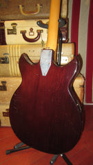 Microfrets Circa 1969 Signature Burgundy with hard case