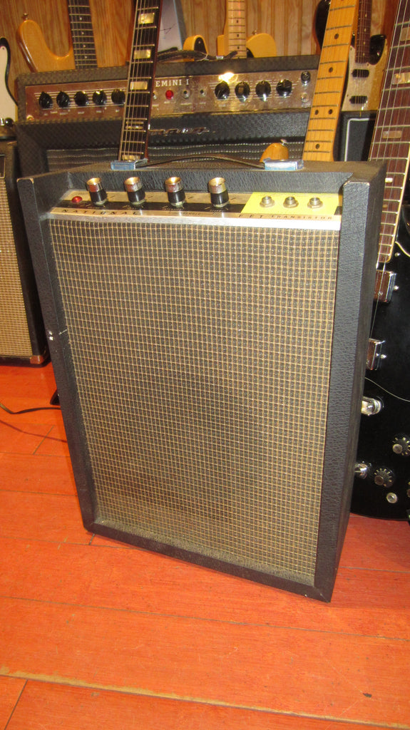 Vintage Circa 1969 National GA-97T Solid State Combo Amp