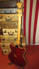 Ovation Typhoon II Red Circa 1969