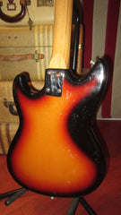Vintage 1969 Teisco Single Pickup Electric Sunburst