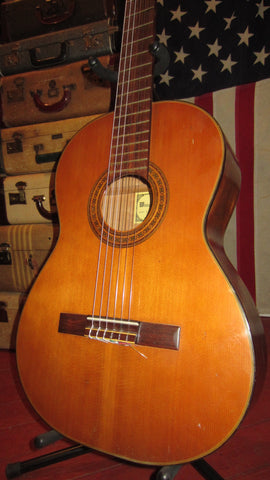 Vintage Circa 1969 Wilson & Sons JT-1 Nylon String Natural