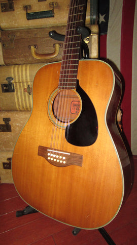 Vintage circa 1969 Yamaha FG-230 12 String Acoustic Red Label Made in Japan