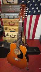 Vintage 1969 Yamaha  FG-230 Acoustic 12 String Red Label Nippon Gakki Natural