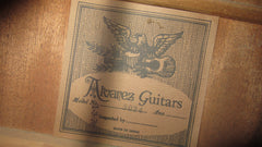 Vintage Original 1970 Alvarez Dove Copy