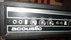 1971 Acoustic Model 150 Guitar Amp Head Black