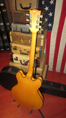 Vintage Circa 1971 Gibson ES-320 Semi-Hollow Body Electric Guitar Natural