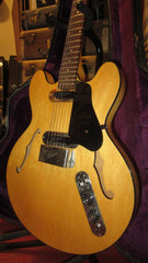 Vintage 1972 Gibson ES-320 Semi-Hollow Body Natural w/ Original Case