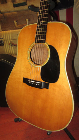 Vintage 1972 Martin D-28 Natural Sounds Amazing with Hard Case