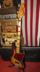 Vintage 1973 Fender Jazz Bass Sunburst