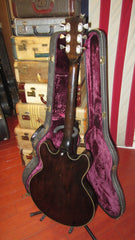 Circa 1973 Gibson ES-325 Hollow Body Walnut Remarkably Clean with original case
