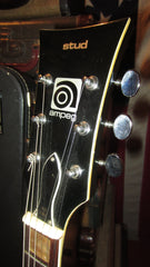 Vintage Circa 1975 Ampeg Stud SG Copy Original Black Finish