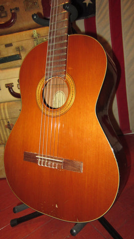 1975 Guild Mark III Classical Nylon Natural