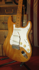 ~1976 ARIA Stratocaster Copy Natural Plays Remarkably well with Classic Vintage Strat Tone