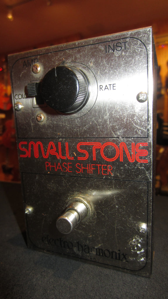 1976 Electro-Harmonix Small Stone Phase Shifter Red & Chrome