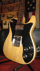 Vintage 1976 Fender Telecaster Custom Original Natural Finish
