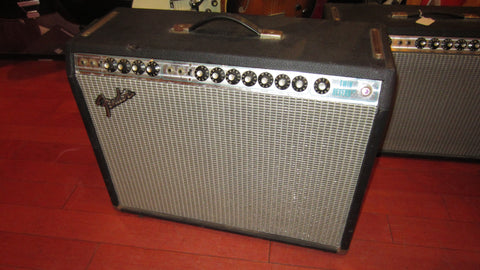 Vintage 1976 Fender Twin Reverb Silverface