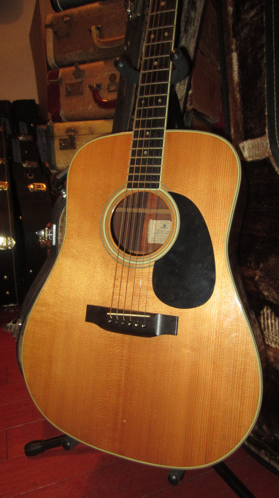 Vintage Original 1976 K Yairi YW550 Copy Of Martin D-35