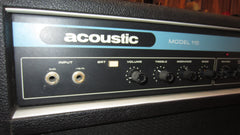 ~1977 Acoustic Model 115 Black and Blue
