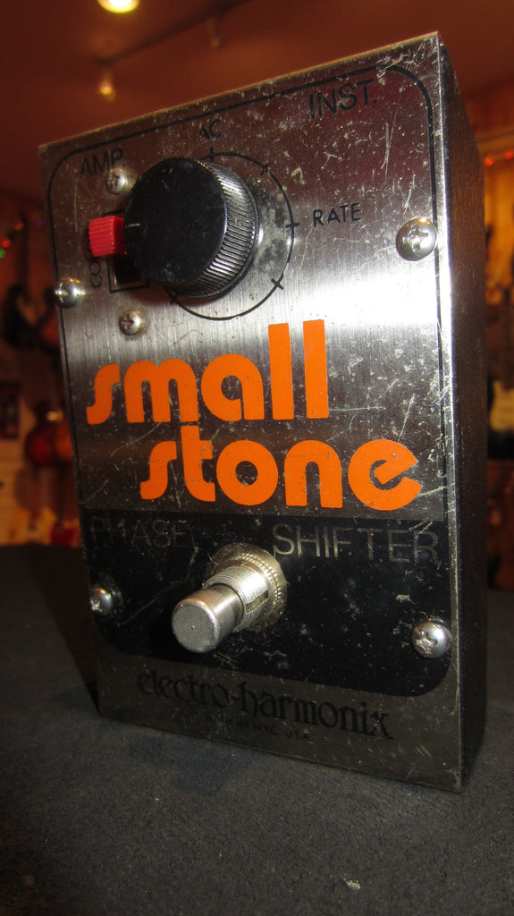 1977 Electro-Harmonix Small Stone Phase Shifter Orange & Black