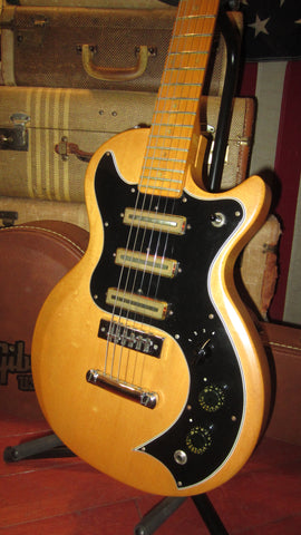 Vintage 1977 Gibson S-1 Solid Body Electric Guitar