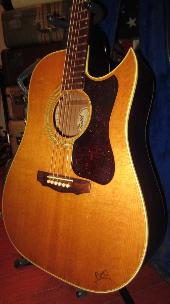 Vintage Original 1978 Guild D-40 CNT Flattop Dreadnought With Cutaway