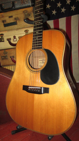 Vintage Original Circa 1979 Alvarez Yairi Model DY75 Natural