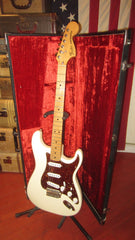 1979 Fender Stratocaster White with Custom Shop Pickups and Nice Custom Shop Case