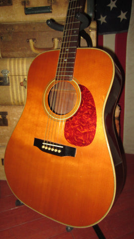 Vintage 1979 Martin Sigma SDR-28H Dreadnought Acoustic Natural