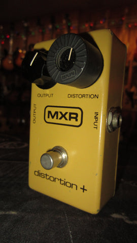 Vintage 1979 MXR Distortion + Yellow
