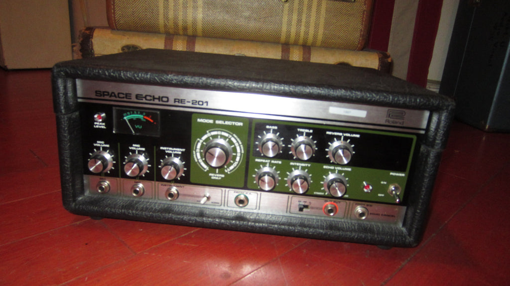 1979 Roland RE-201 Space Echo Black and Green