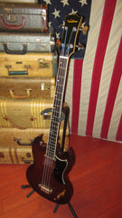Vintage 1970's Ventura EB-0 SG Bass Copy Made in Japan w/ Gig Bag