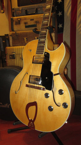 1980 Guild CE-100 Archtop Hollowbody Electric  Blonde