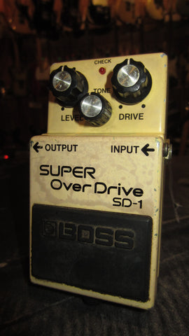 Circa 1981 Boss SD-1 Overdrive