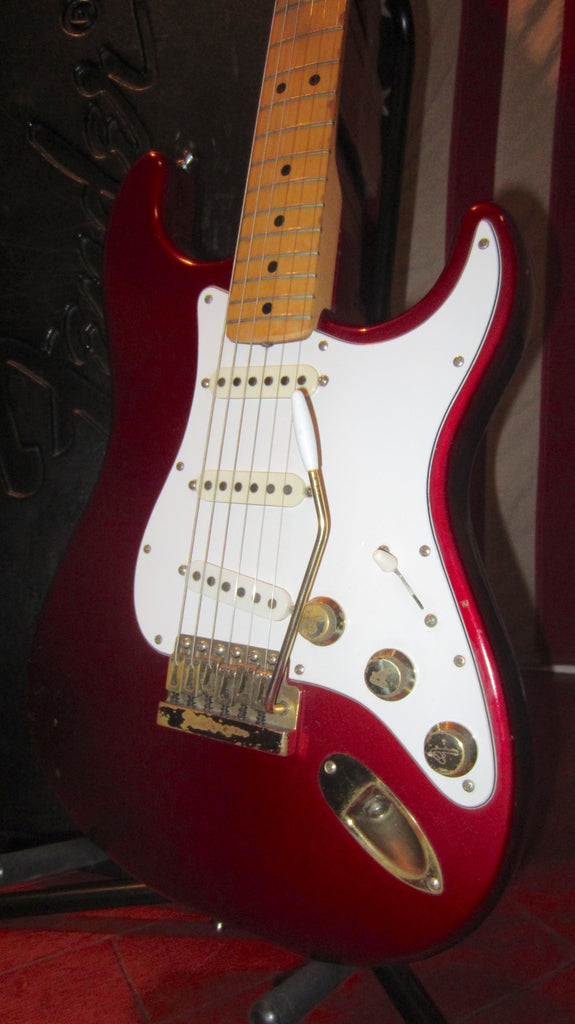 Vintage 1981 Fender The Strat Candy Apple Red