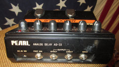Vintage 1980's Pearl AD-33 Analog Delay Made in Japan